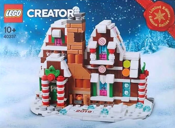 40337 Gingerbread House Limited Edition