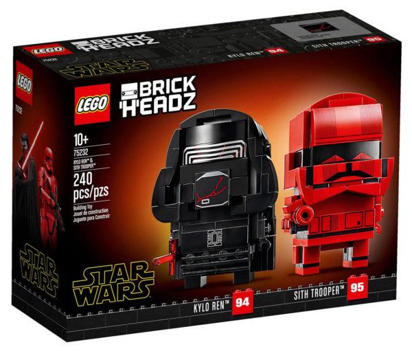 LEGO Star Wars BrickHeadz 75232 Kylo Ren & Sith Trooper : les visuels officiels