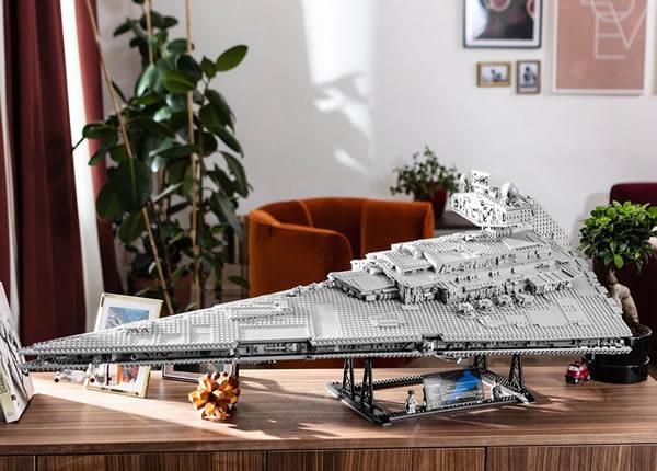Concours : Montrez-nous votre Imperial Star Destroyer UCS !