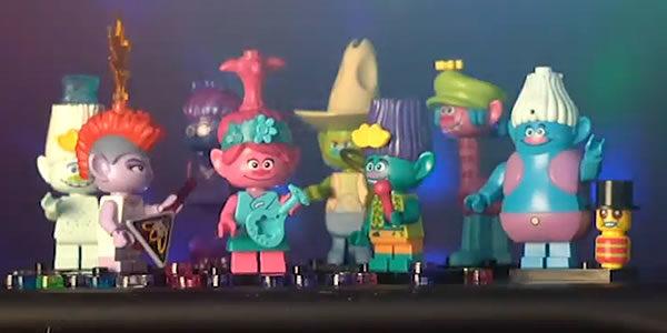 LEGO Trolls World Tour : premier teaser et premier aperçu des minifigs