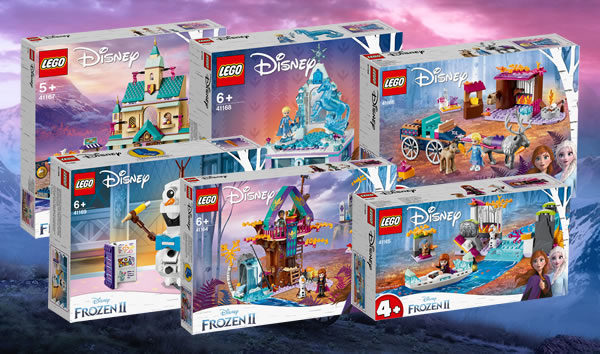 Nouveautés LEGO Disney Frozen II : les visuels officiels sont (de nouveau) disponibles