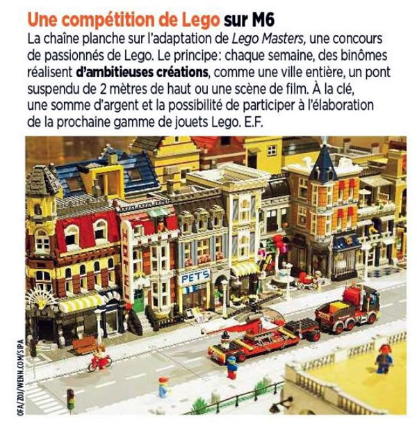 lego masters coming france m6