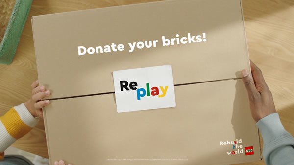 LEGO Replay : Une initiative pour donner une seconde vie aux briques inutilisées