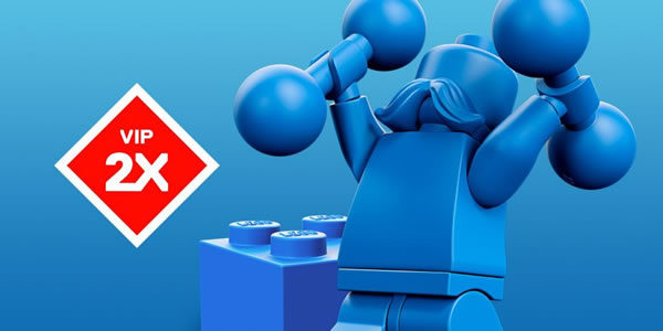 Sur le Shop LEGO : Points VIP doublés jusqu'au 27 octobre 2019