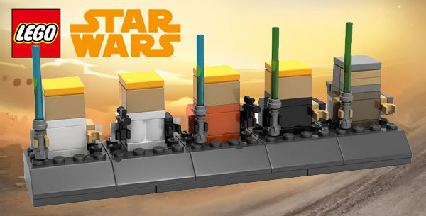 Mini-chronologie LEGO Star Wars offerte en LEGO Stores : les instructions sont disponibles