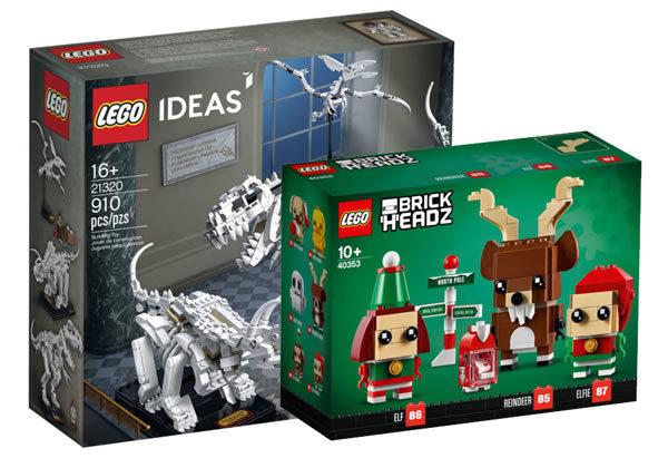 Sur le Shop LEGO : les nouveautés de novembre sont disponibles