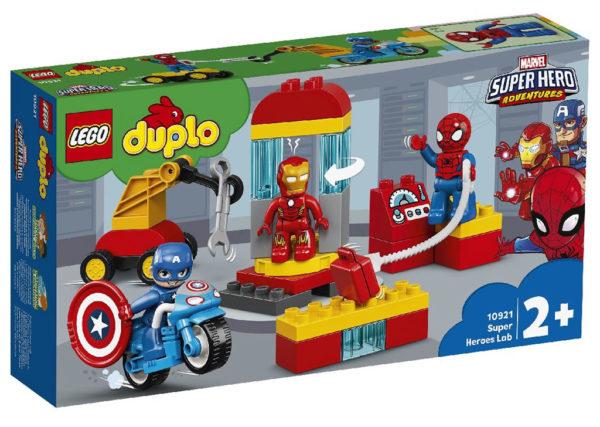 10921 Super Heroes Lab