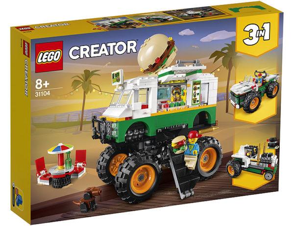31104 Monster Burger Truck