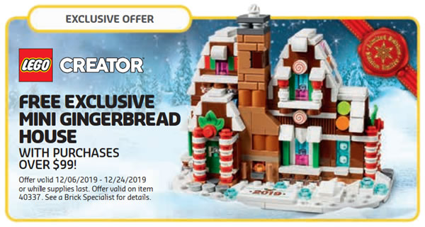 40337 Mini Gingerbread House
