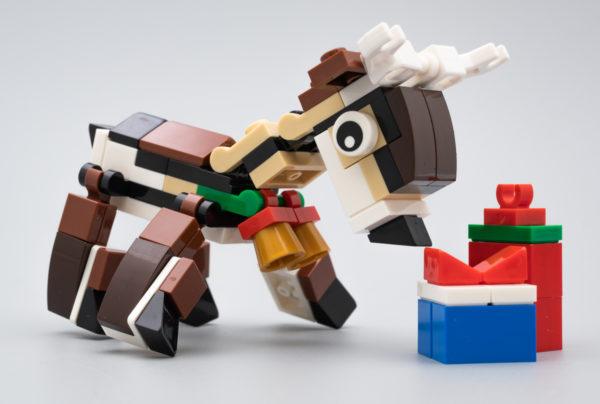 Le cadeau du moment chez LEGO : Polybag Creator 40434 Reindeer