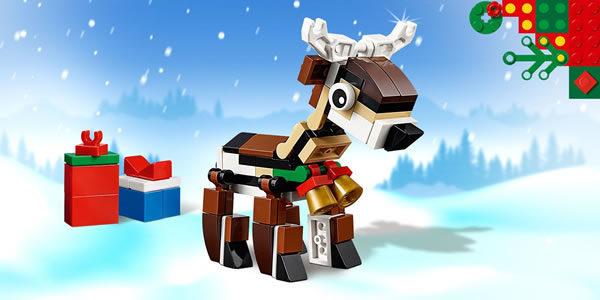 Sur le Shop LEGO : 40434 Reindeer offert dès 35 € d'achat