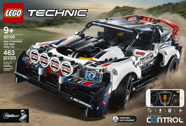 LEGO Technic 42109 App-Controlled Top Gear Rally Car : Tout ce qu'il faut savoir