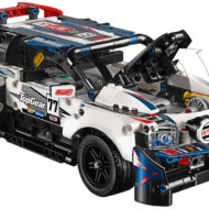 42109 App-Controlled Top Gear Rally Car