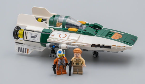 Très vite testé : LEGO Star Wars 75248 Resistance A-Wing Starfighter