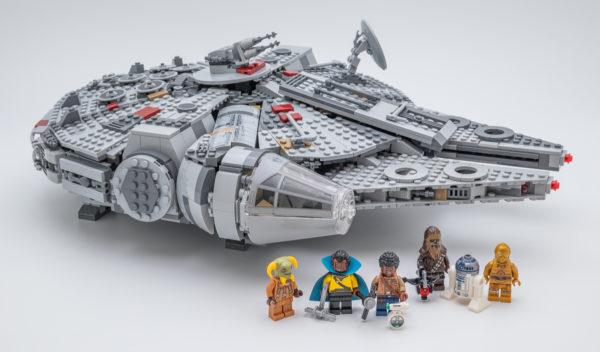 Très vite testé : LEGO Star Wars 75257 Millennium Falcon