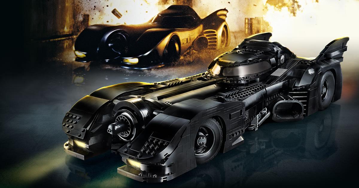 LEGO Batman 76139 1989 Batmobile : enfin dévoilée officiellement !