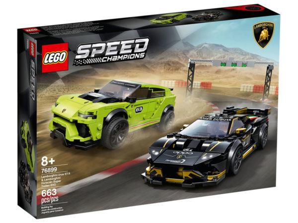 Nouveautés LEGO Speed Champions 2020 : encore des visuels