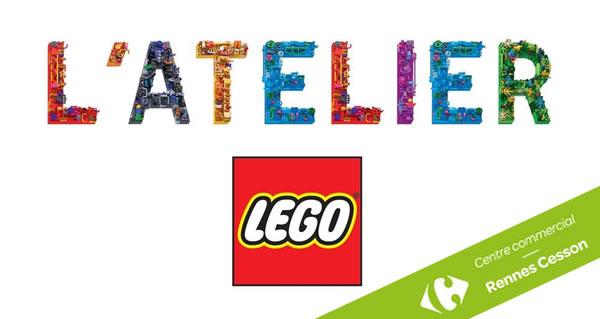 Centre commercial Rennes Cesson : Un Atelier LEGO ouvre ses portes fin novembre
