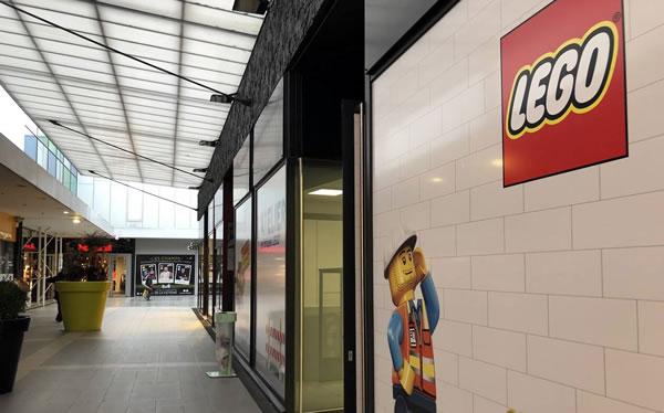LEGO débarque à Saint-Brieuc, mais ce n'est pas un LEGO Store