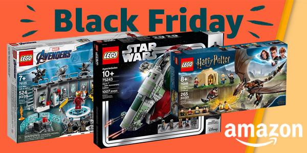 Black Friday 2019 chez Amazon : jusqu'à 40% de réduction sur une sélection de sets LEGO