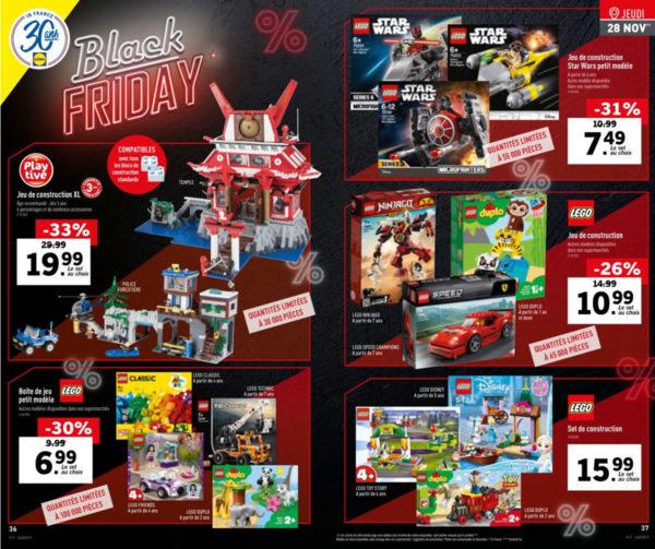Black Friday 2019 : il y aura du LEGO aussi chez LIDL