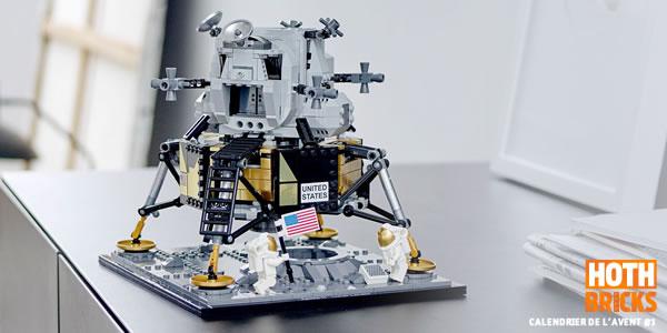 Calendrier de l'Avent #1 : Un set LEGO Creator Expert 10266 NASA Apollo 11 Lunar Lander à gagner !
