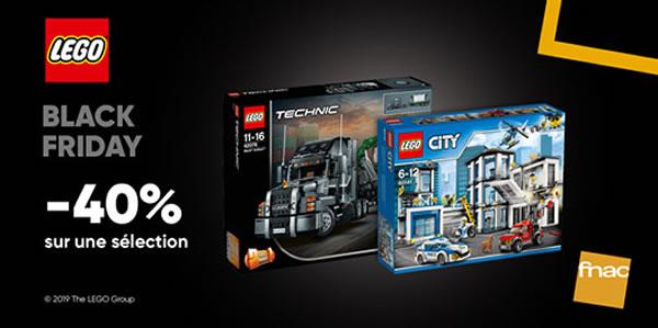 Sur FNAC.com : 40% de réduction sur une sélection de sets LEGO