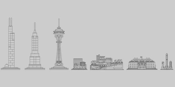 Les Skylines de la gamme LEGO Architecture en 2020 : Tokyo et Dubaï