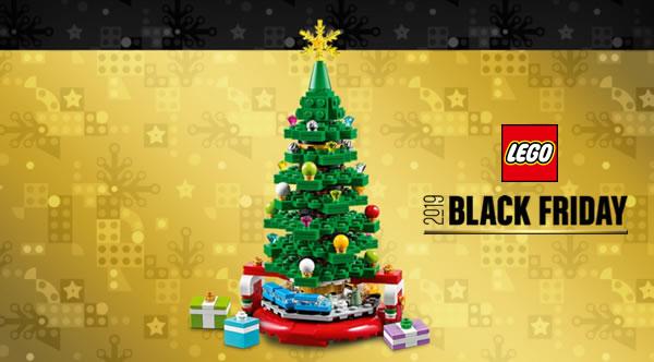Black Friday 2019 chez LEGO : Le set 40338 Christmas Tree Limited Edition offert dès 120 € d'achat