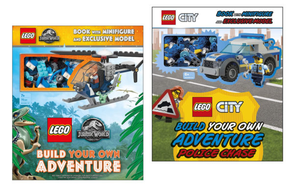 LEGO Build Your Own Adventure : de nouveaux volumes CITY et Jurassic World prévus pour 2020