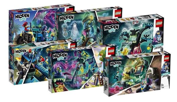Nouveautés LEGO Hidden Side 2020 : les visuels officiels