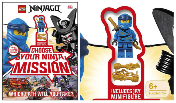 LEGO NINJAGO Choose Your Ninja Mission : Jay sera fourni avec l'ouvrage