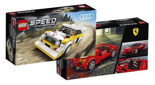 Nouveautés LEGO Speed Champions 2020 : deux nouveaux sets dévoilés