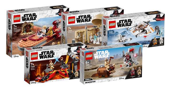 "Nouveautés LEGO Star Wars ""Classic"" 2020 : Les visuels officiels"