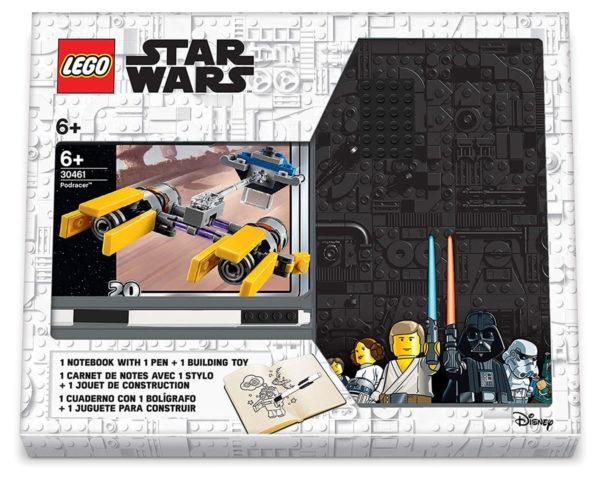 Nouveautés 2019 : des packs LEGO Star Wars avec un polybag, un carnet de notes et un stylo