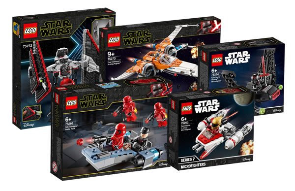 Nouveautés LEGO Star Wars The Rise of Skywalker 2020 : Les visuels officiels