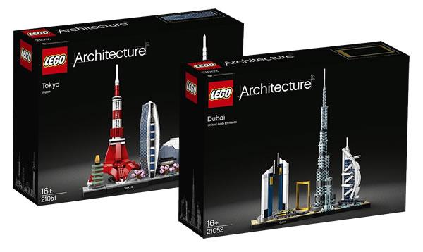 Nouveautés LEGO Architecture 2020 : les visuels officiels