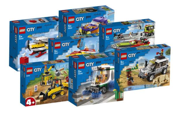 Nouveautés LEGO CITY 2020 : les visuels des sets sans policiers ni pompiers