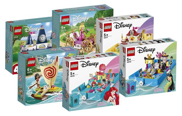 LEGO Disney - Page 22 New-lego-disney-moana-aurora-belle-cinderella-ariel-sets-2020