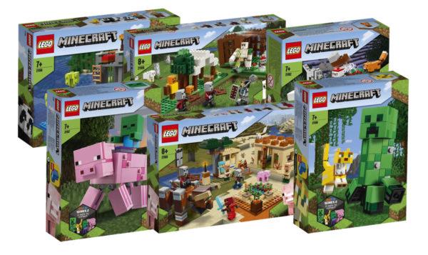 Nouveautés LEGO Minecraft 2020 : les visuels officiels