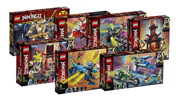 Nouveautés LEGO Ninjago 2020 : quelques visuels officiels des sets du premier semestre