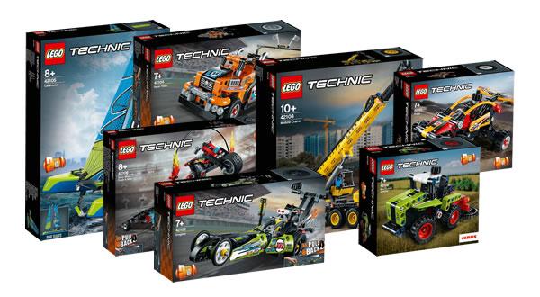 Nouveautés LEGO Technic 2020 : les visuels officiels des sets du premier semestre