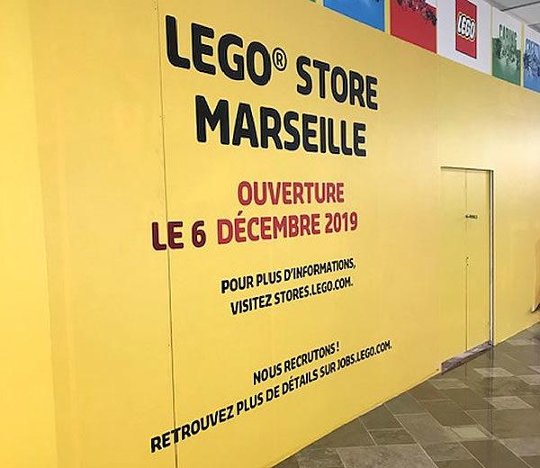 LEGO Store de Marseille : ouverture le 6 décembre 2019