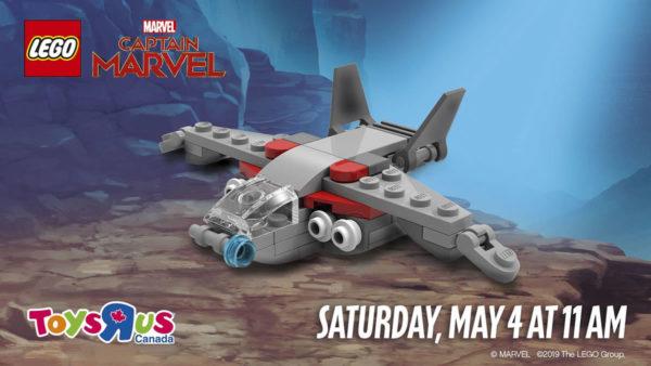 LEGO Mini Quinjet Captain Marvel