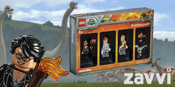 Chez ZAVVI : Le pack de minifigs 5005255 Jurassic World offert