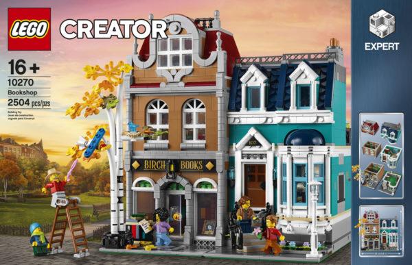Modular LEGO Creator Expert 10270 Bookshop : tout ce qu'il faut savoir