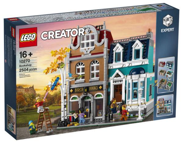 Sur le Shop LEGO : Le set LEGO Creator Expert 10270 Bookshop est disponible