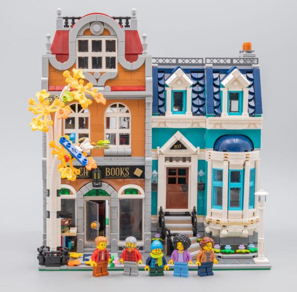 Vite testé : LEGO Creator Expert Modular 10270 Bookshop
