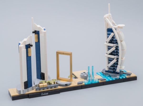 Très vite testé : LEGO Architecture 20152 Dubaï Skyline