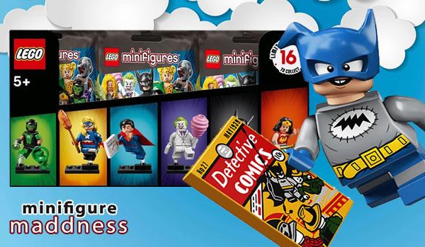 Chez Minifigure Maddness : précommandes ouvertes pour les boites de minifigs LEGO 71026 DC Comics